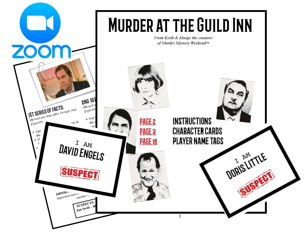 Murder Mystery Home Game